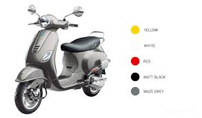 Vespa VXL 125 Scooter Price in New Delhi, India