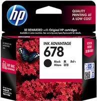 HP 678 Ink Black Cartridge
