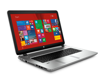 HP 17 k208tx Laptop Price - i7 5th Gen